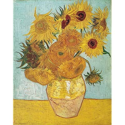 DDTOP Jigsaw Puzzles for Adults Teens - World Famous Painting Series - Van Gogh Sunflower Jigsaw Puzzle - Unique Art Museum Collection 1000 Piece Puzzles Toys: Toys & Games