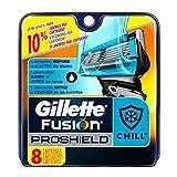 Gillette Fusion ProShield Chill Men's Razor Blade Refills, 8...