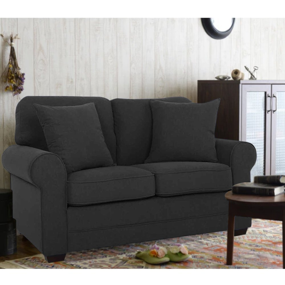 Furny San Fernandino Two Seater Sofa (Dark Grey)