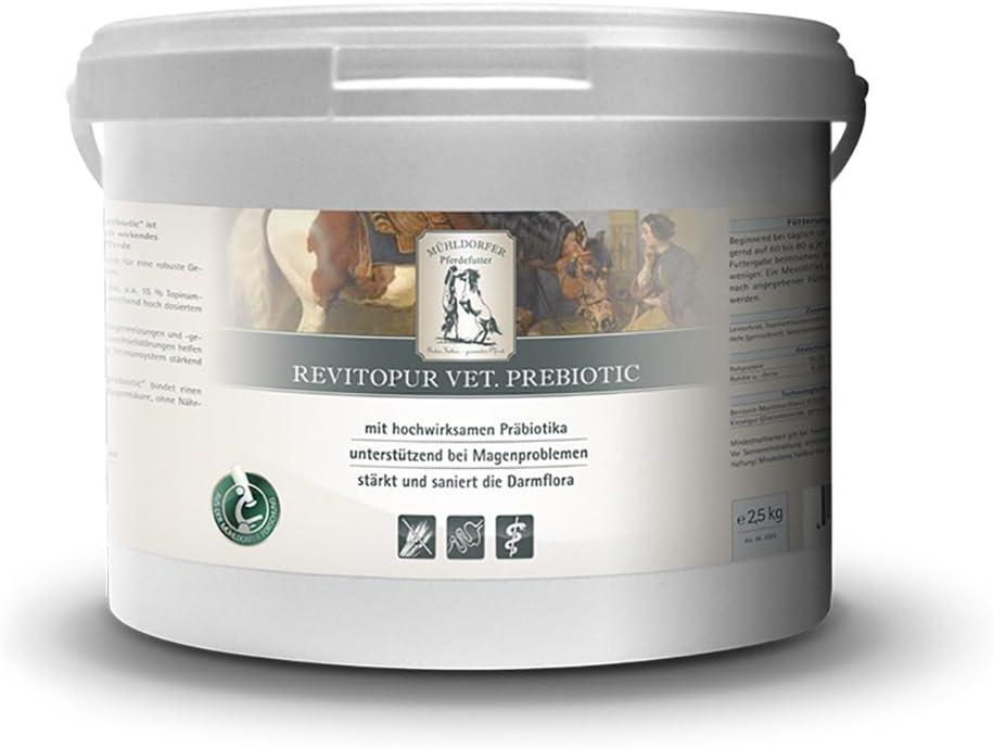 mühl dorfer, complemento Forro para Caballos, Apoyo a estómago Problemas, Revit Micropur prebiotic, 2,5kg