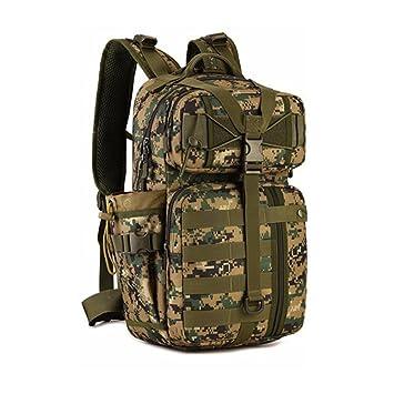 Oarea Mochila táctica al aire libre 900D impermeable militar hombro caza militar camping multiusos bolsa de deporte Molle, WD: Amazon.es: Deportes y aire ...