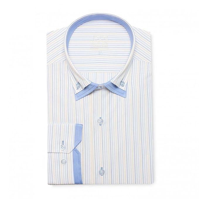 J S para hombre patrones de costura para camisas Designer Premium de ...