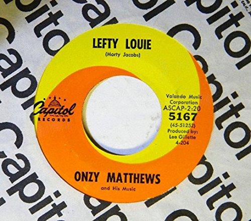 Price comparison product image Onzy Matthews ~ Capitol 5167 45