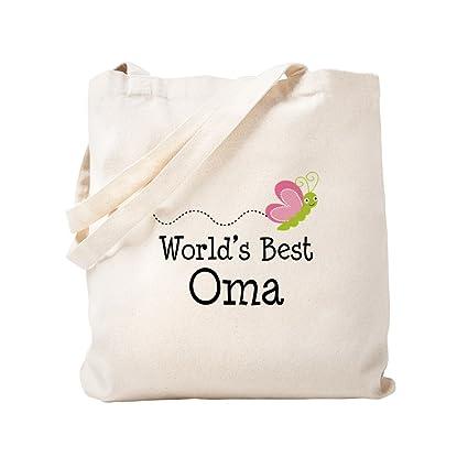 e2207a0083d4 CafePress - World's Best Oma - Natural Canvas Tote Bag, Cloth Shopping Bag