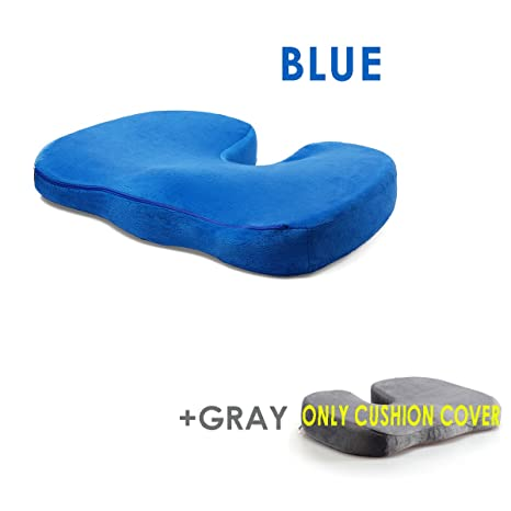 Come Si Lava Un Cuscino In Lattice.Xcellent Global Cuscino In Lattice Per Seduta Blu Per Sollievo