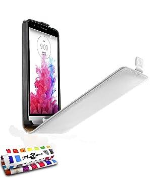 MUZZANO F869587 - Funda para LG G3 S, Color Blanco: MUZZANO ...