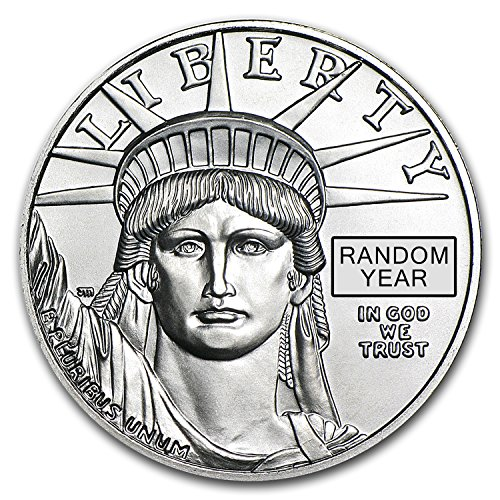 1997 2015 1 Oz Platinum American Eagle Bu  Random Year  1 Oz Brilliant Uncirculated