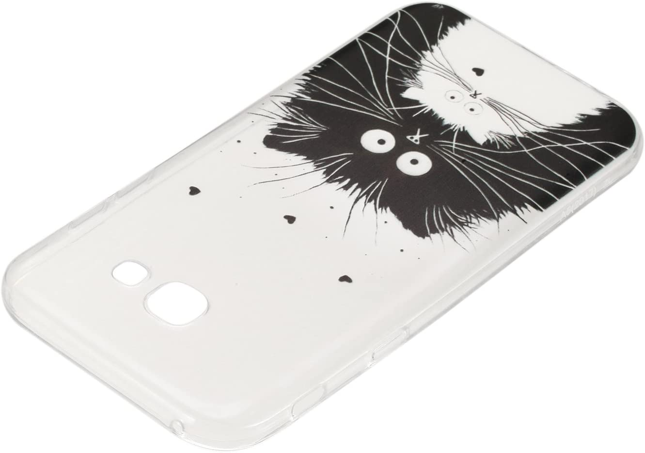 V-Ted Coque Samsung Galaxy A5 2016 Ananas Silicone Ultra Fine Mince Bumper Housse Etui Cover Transparente avec Motif Dessin Antichoc Incassable