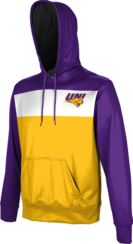 University of Northern Iowa Mens Pullover Hoodie Prime School Spirit Sweatshirt