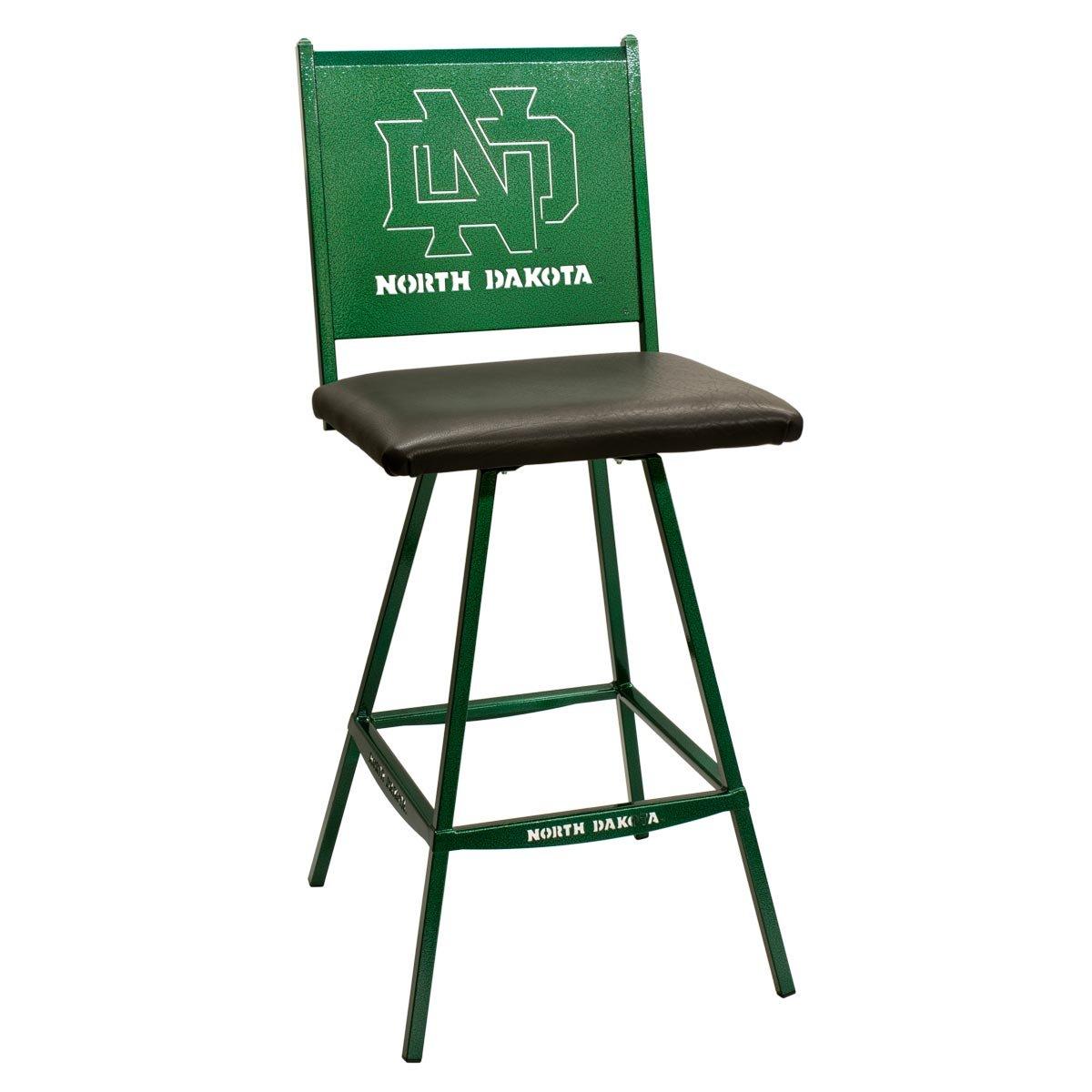 Cool Amazon Com University Of North Dakota Und Swivel Bar Theyellowbook Wood Chair Design Ideas Theyellowbookinfo