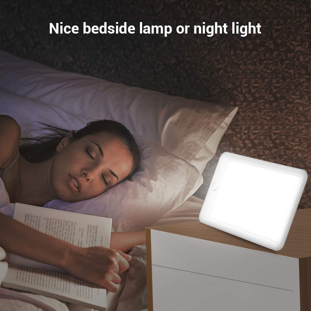 Lampada di Terapia InLife con Luce Naturale SAD Lampada di Luce del Sole 10.000 e 6.000 Lux Regolabile