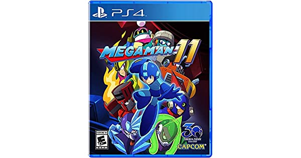 Amazon com: Mega Man 11 - PlayStation 4: Capcom U S A Inc: Video Games