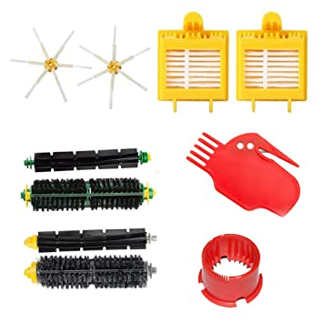 SUN POWER for Roomba Replacement Parts Accessories for iRobot Roomba 700  760 761 770 780 790 Series Kits Robotic Vacuum Cleaners Include 2 Bristle