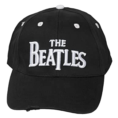 The Beatles Classic Logo Distressed Hat