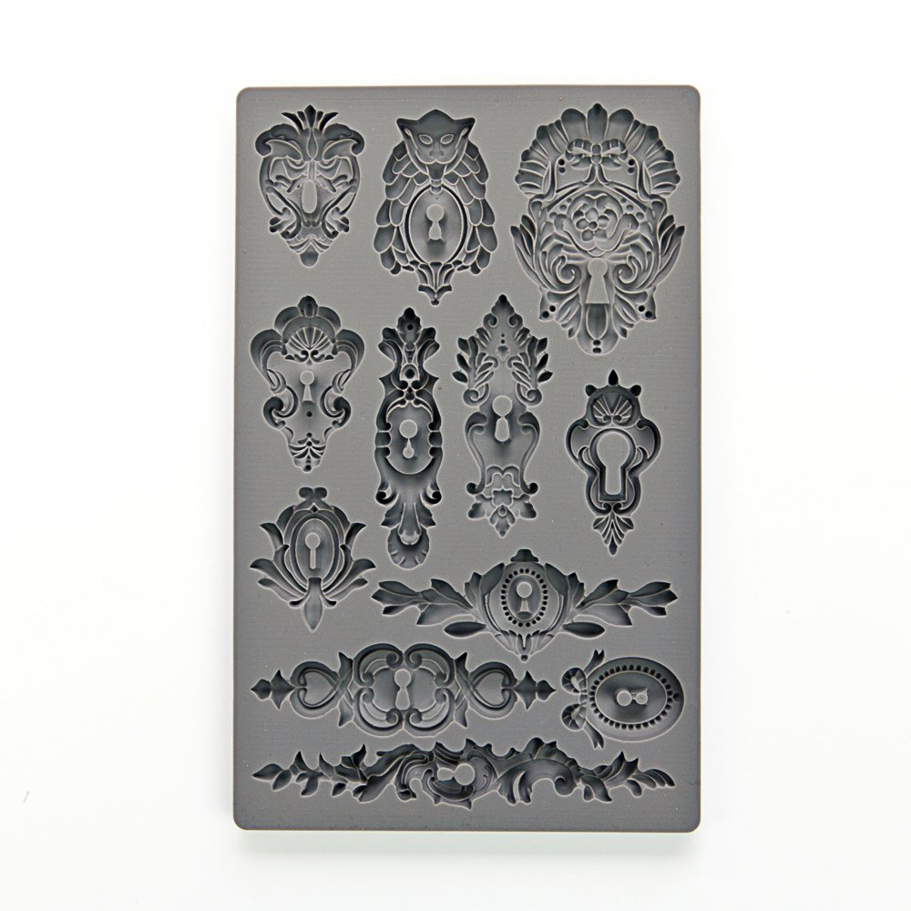 Keyholes Prima Marketing IOD Vintage Art Decor Moulds