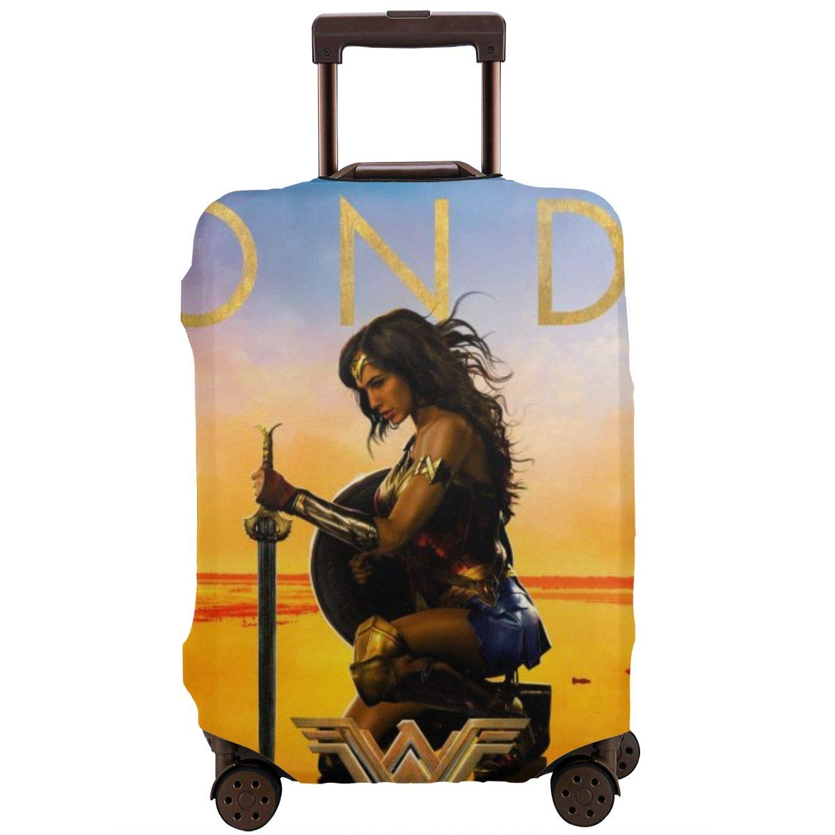 Wonder Woman Suitcase Protector Travel Luggage Cover Fit