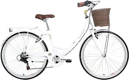 Kingston Dalston - Bicicleta híbrida para Mujer, Talla M (164-172 cm), Color Negro: Amazon.es: Deportes y aire libre