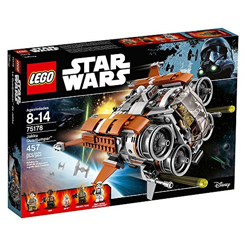 LEGO Star Wars Jakku Quad Jumper 75178 Building Kit (Star Wars Fighter Pods Toys R Us)