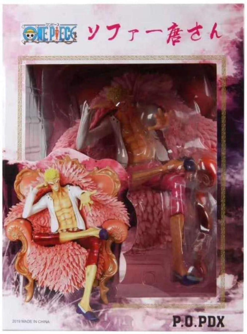 A Einteilige Statue handgefertigt Don Quijote Doflamingo Boxed Model-Ming Ge N