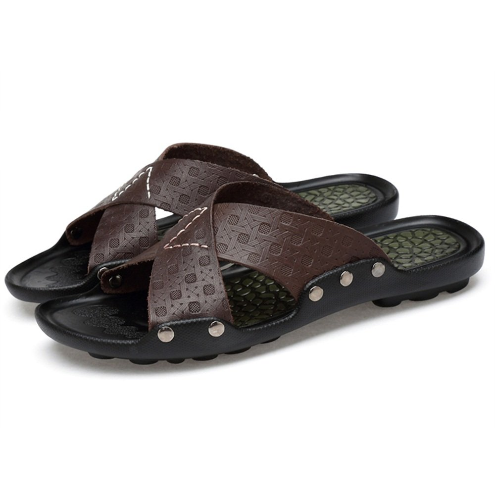 ZHANGRONG--   Herren Lounge Slide Sandalen Strap Sommer Schuhe überqueren über Strap Sandalen ( Farbe : D , größe : EU38/UK5.5/CN38 ) D 32f76d