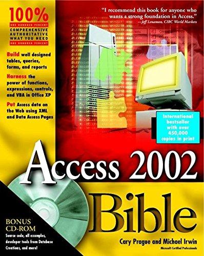 Access 2002 Bible