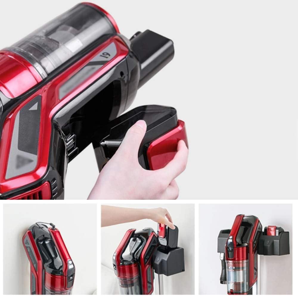 RKY Aspirateur - maison avec affichage et la DEL d\'éclairage vertical de charge petit aspirateur sans fil multi-fonction /-/-/ (Color : Red) Red