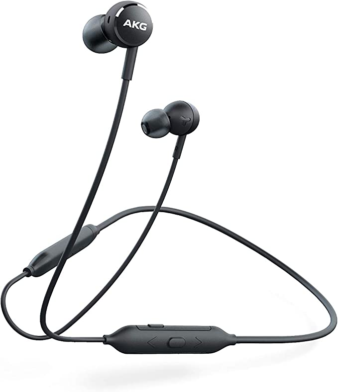 AKG Y100 Wireless Bluetooth Earbuds - Black (US Version)