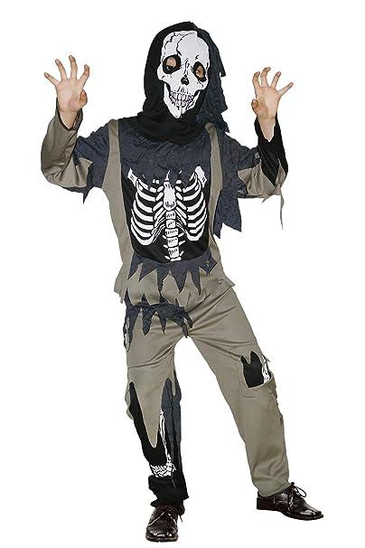 Halloween Skeleton Costume Kids.U Look Ugly Today Boys Halloween Costume X Ray Skeleton Jumpsuit For Kids Cosplay Dress Up Party