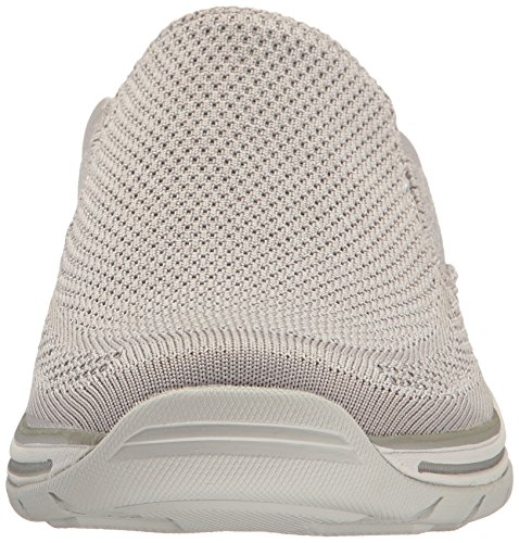 Skechers USA Gomel Slip-on Loafer para Hombre, Gris Claro