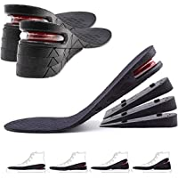 GULIQ Height Increase Insole,Insole Lift Kit,4-Layer 3CM-7.5CM Orthoric Heel Shose lift Kit Variable Height Adjustable…
