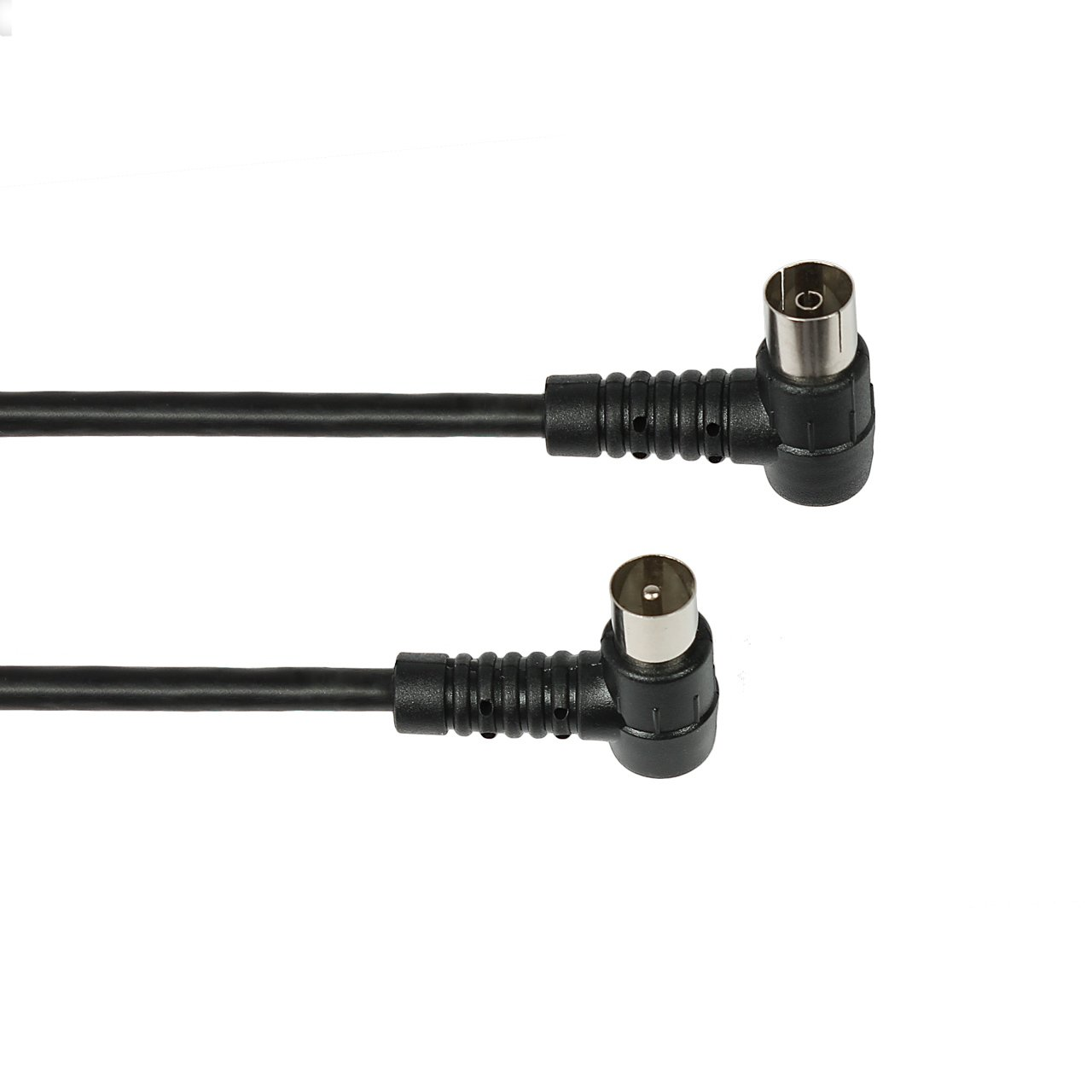 Vivanco 7/61 SW-N - Cable coaxial (1.5 metros), negro: Amazon.es: Electrónica