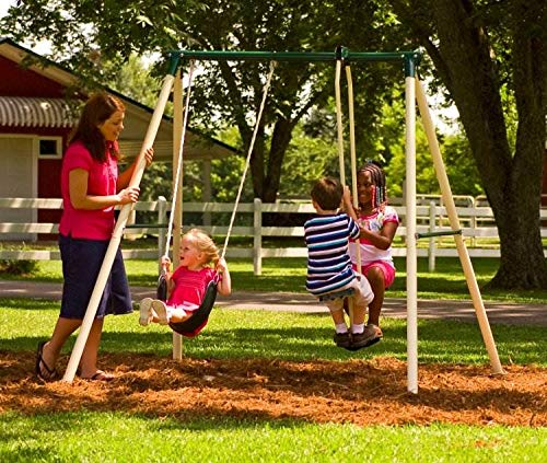 Flexible Flyer Play Now and More Swing Set with Plays