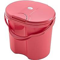 Rotho Babydesign - Cubo para Panal, Rosa (Sunset Red Pearl)