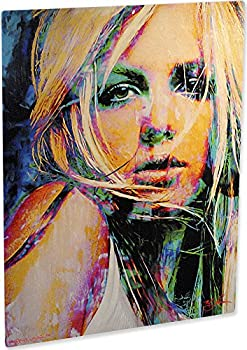 Britney Spears art print dazzling wall decor modern artwork painting by Mark Lewis Art - signed collectible sb1bsm