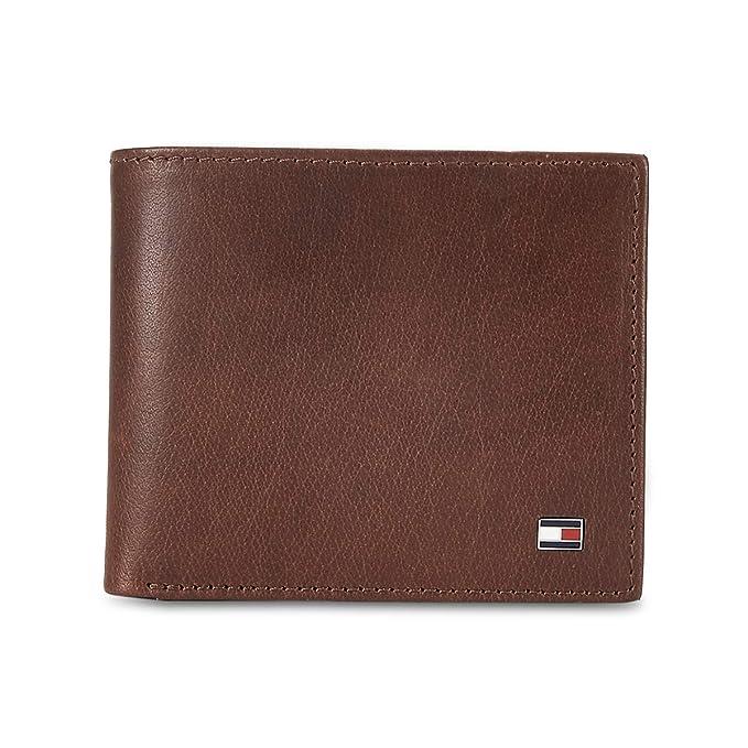 Tommy Hilfiger Brown Leather Men's Wallet  8903496147858  Wallets
