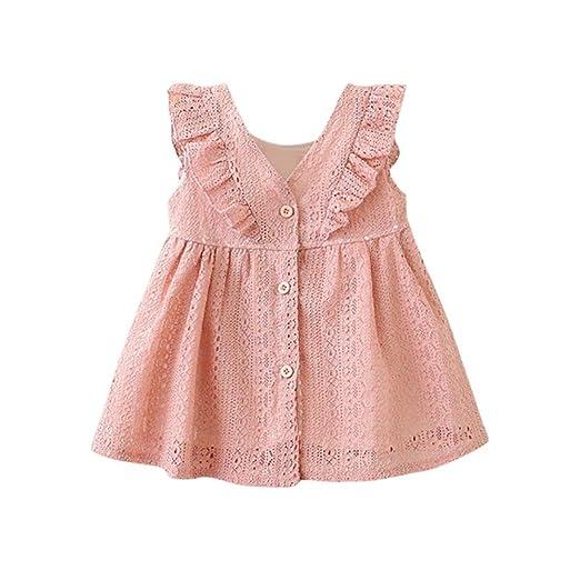 9056f15ac Amazon.com: Goodlock Children Infant Kids Fashion Dress Girls Lace ...