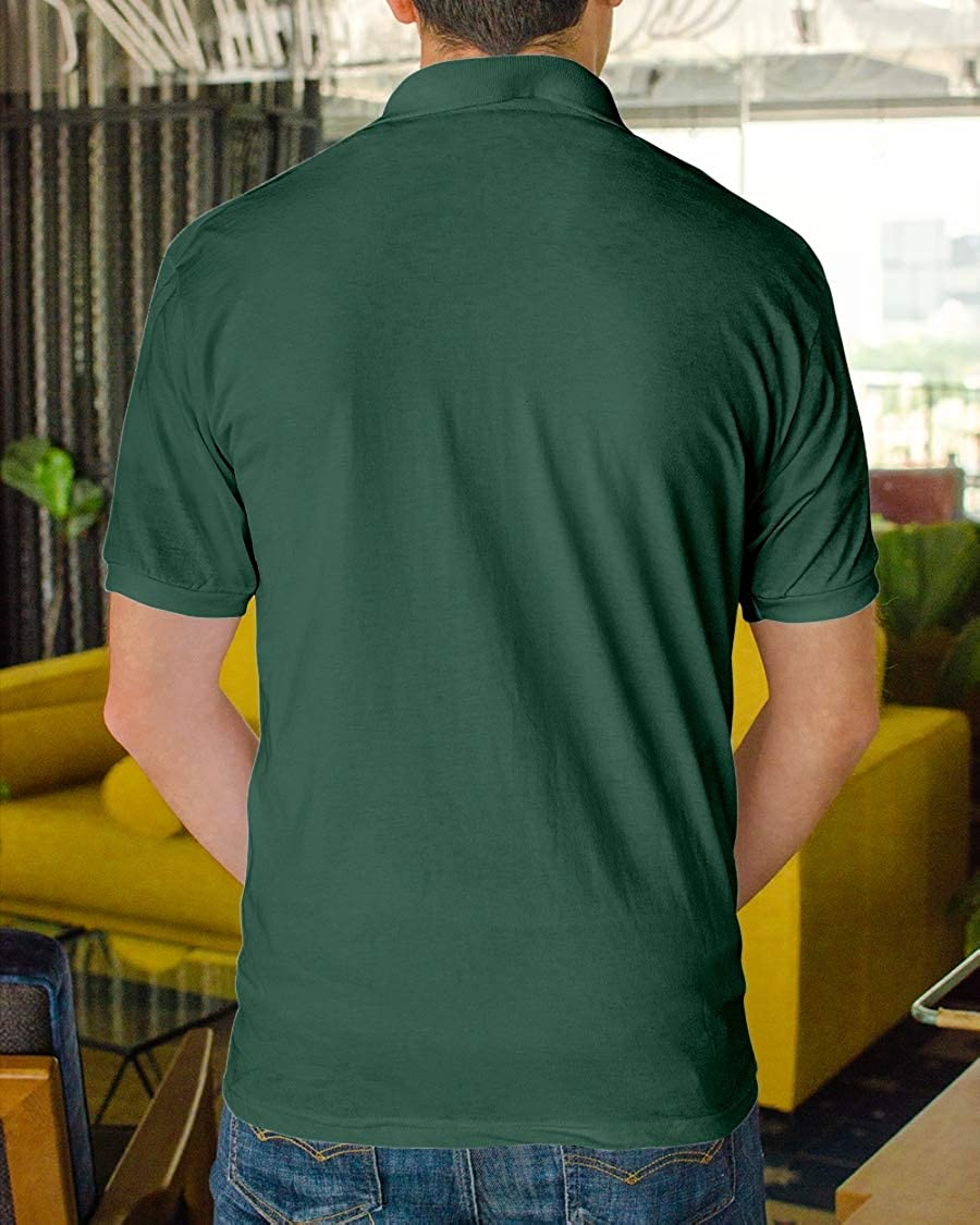 Hillary Chenss HCS Smiley Juice Classic Polo Forest Green 3XL