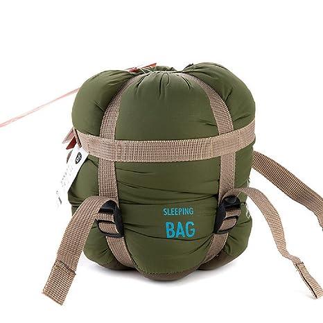 yvonnelee verano Camping saco de dormir rectangular sobre para adultos y niños se puede conectar con