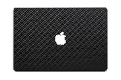best sneakers 0eada b0b18 iCarbons Black Carbon Fiber Vinyl Skin for MacBook Pro 13