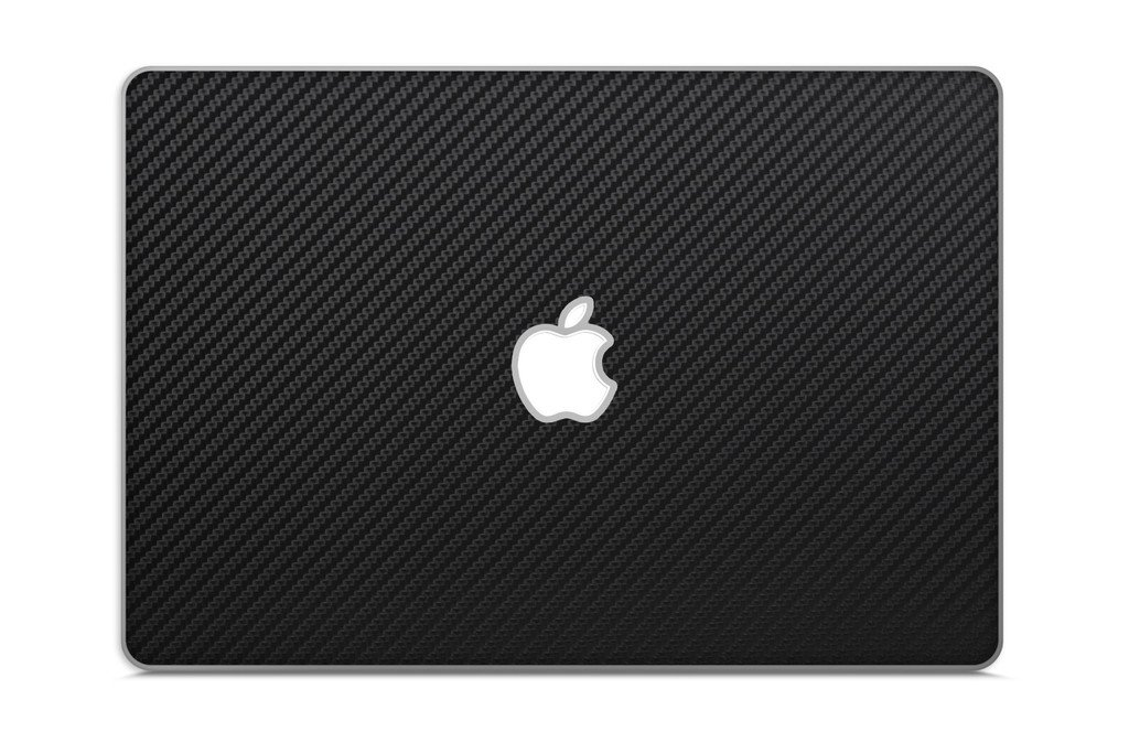 iCarbons Black Carbon Fiber Vinyl Skin for MacBook Pro 13'' Retina Full Combo by iCarbons (Image #1)