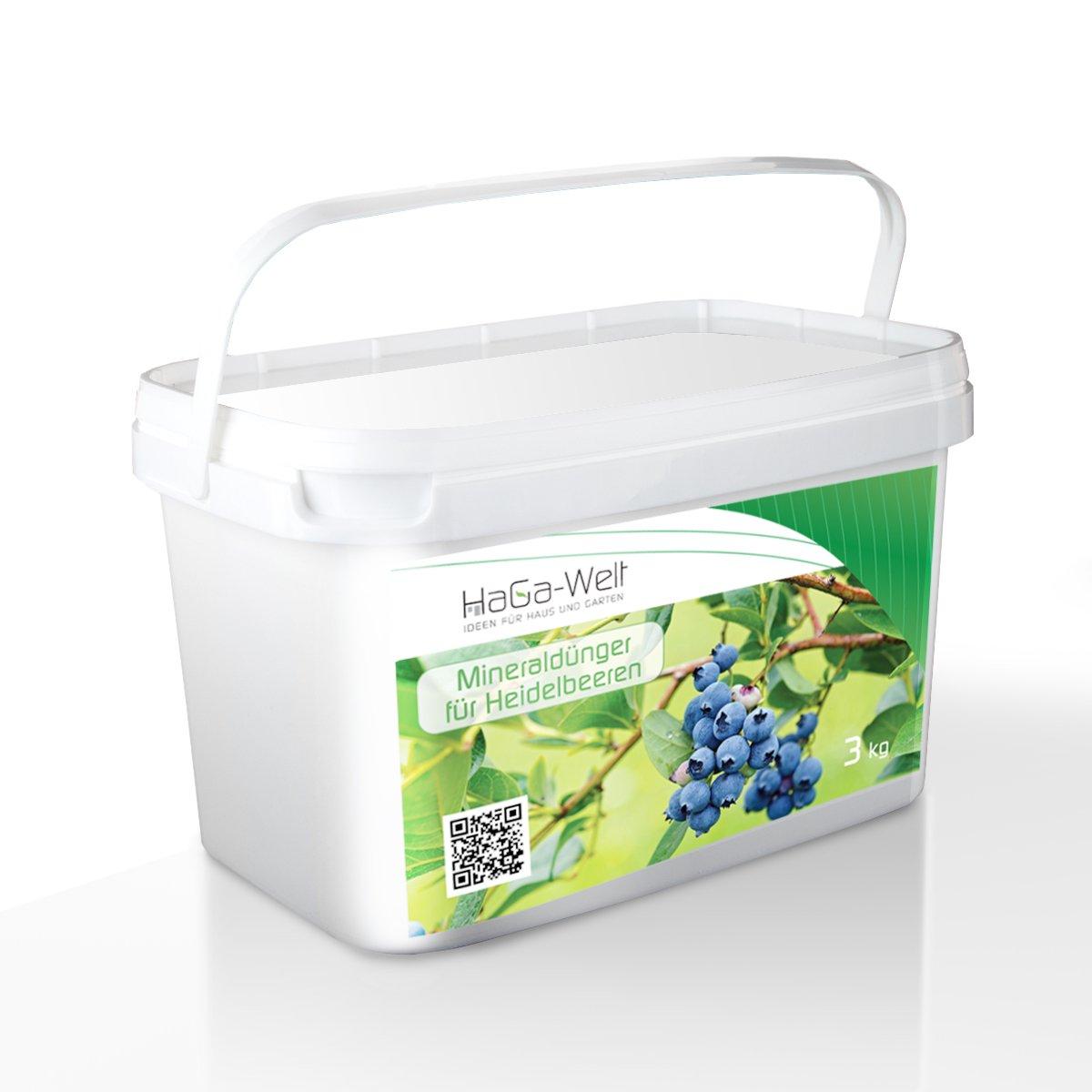 CONCIME MINERALE PER Mirtilli CONCIME FERTILIZZANTE PER PIANTE DA FRUTTO delle Piante fertilizzante 3kg Planta