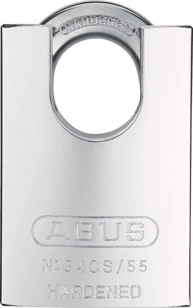 ABUS 34/55 Close Shackle Hardened Steel Padlock 3455CSC