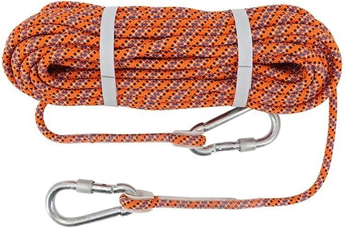 LIOOBO Cuerda de Escalada en Roca Cuerda de Paracord Doble ...