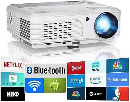 Amazon.com: EUG proyector, directamente vendida de fábrica ...