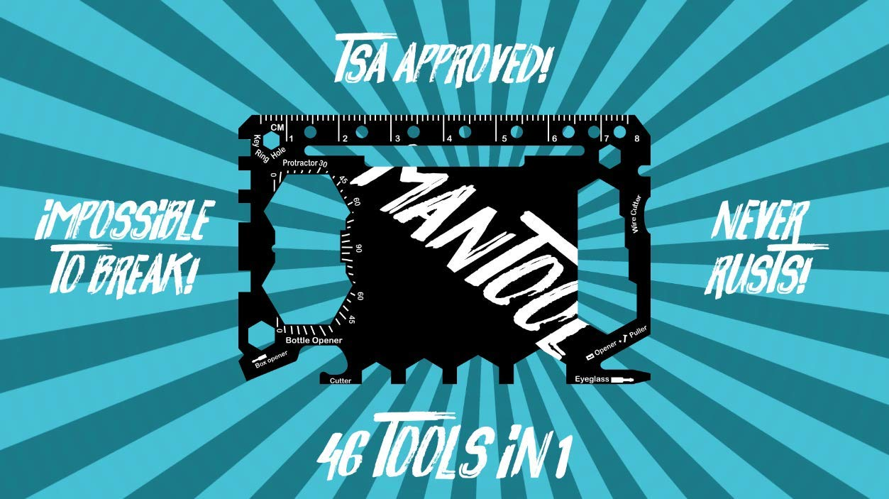 MANTOOL - Multi Tool - 46 Tools in 1