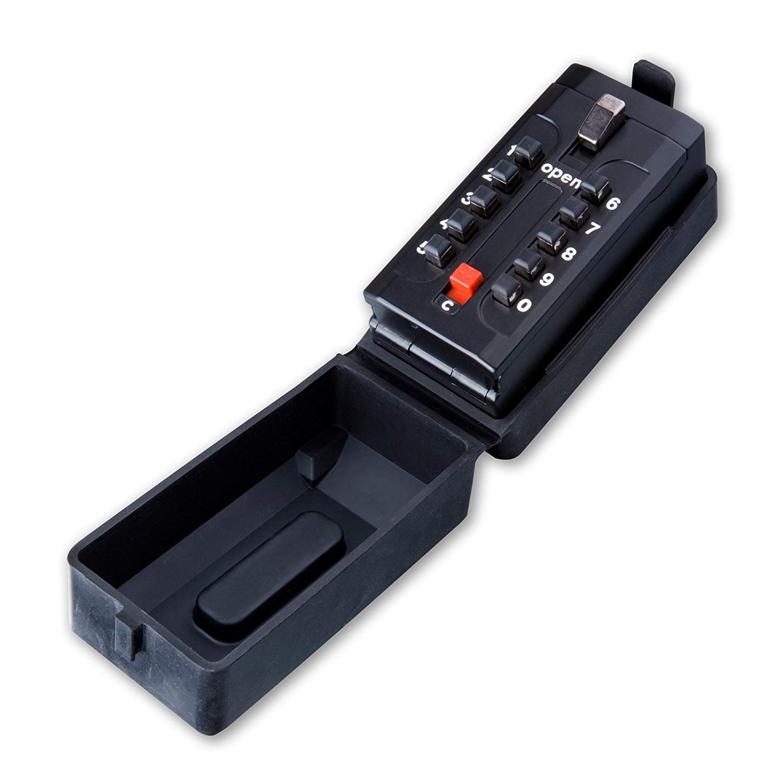 Aparato de seguridad Defender de gran capacidad con pulsador como llave de seguridad.: Amazon.es: Hogar