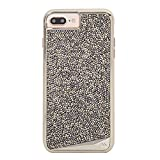 Case-Mate iPhone 8 Plus Case - BRILLIANCE - 800+ Genuine Crystals - Protective Design for Apple iPhone 8 Plus - Champagne