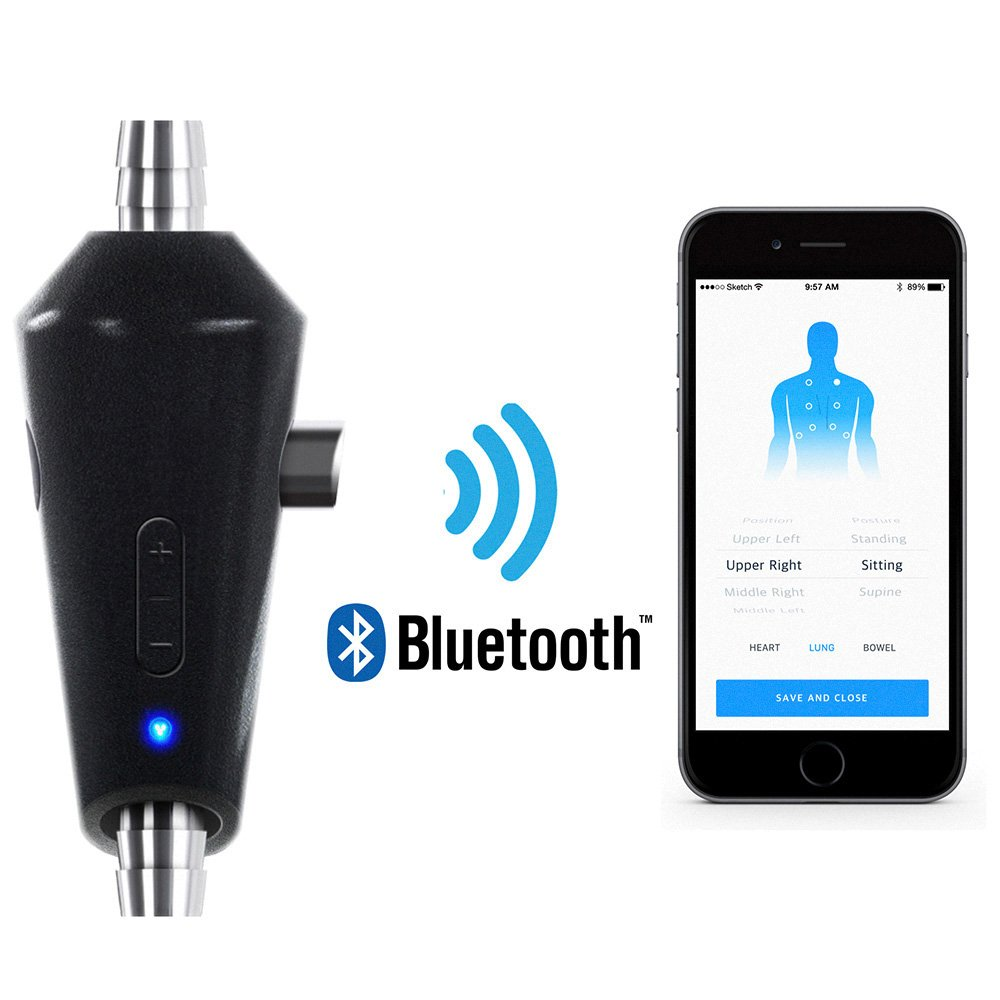 Eko Digital Stethoscope Attachment Only Black