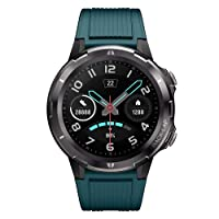 Lintelek Smart Watch for Android and iOS Phone, 1.3 Inch Round Touch Screen Smartwatch...