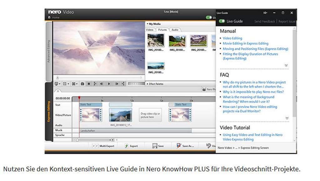 Nero Video 2019 | PC | PC Activation Code by email: Amazon